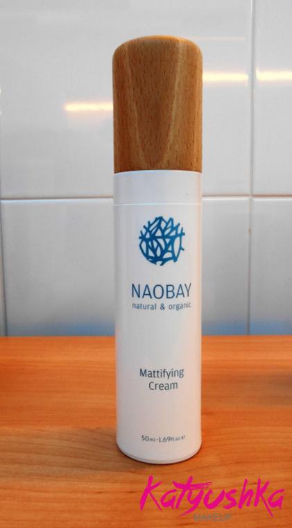 Crema matificante Naobay
